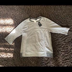 Nike Dri-Fit  Flux Crew 3/4 Sleeve Sweatshirt